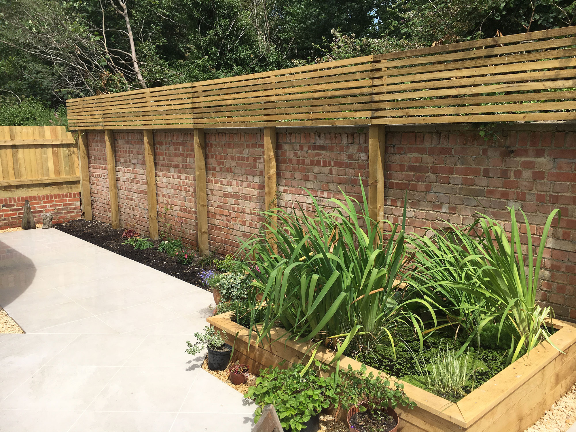 Landscaping - Fencing